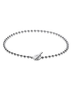 Gucci - Sterling Silver Boule Chain Bracelet