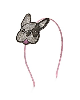 GiGi - Girls' Crystal-Dog Headband - 100% Exclusive