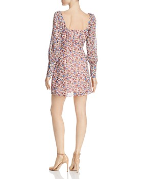 The East Order - Peaches Floral Mini Dress