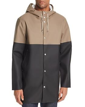 Stutterheim - Hooded Color-Block Raincoat - 100% Exclusive