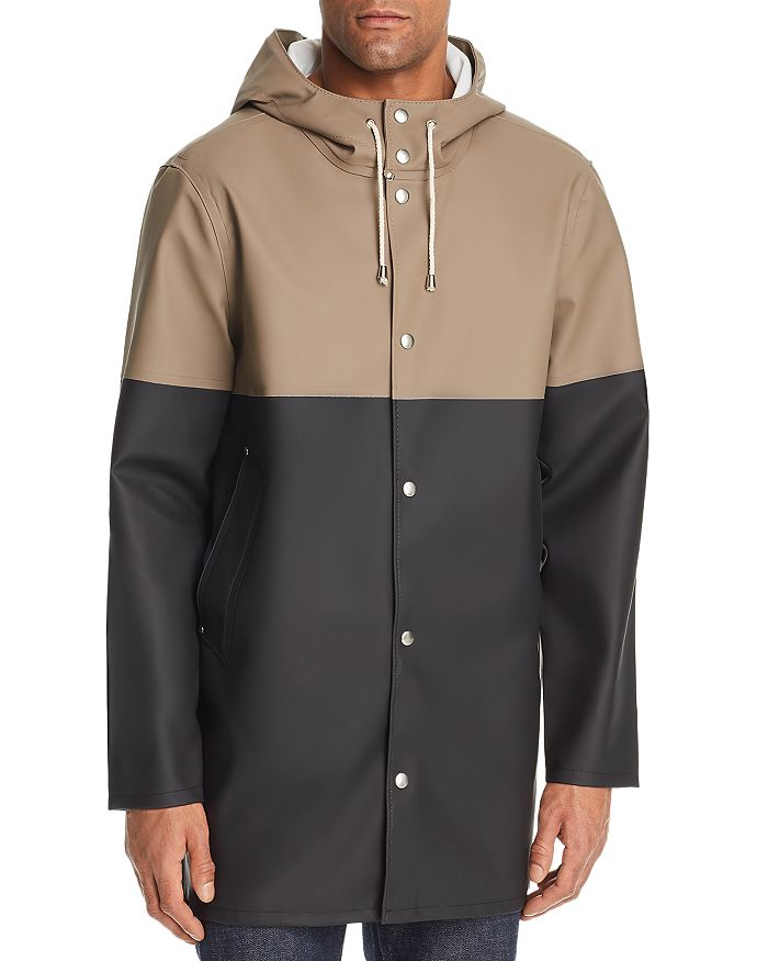 Stutterheim - Hooded Color-Block Raincoat - 100% Exclusive