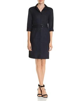 8e331211750 BOSS - Daliri Belted Dress ...