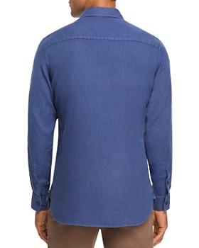 Z Zegna - Garment Dyed Linen Regular Fit Sport Shirt - 100% Exclusive