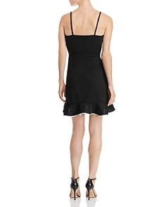AQUA - Piped Ruffled Dress - 100% Exclusiv