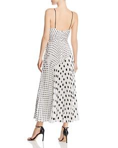 Jill Jill Stuart - Pleated Polka-Dot Dress