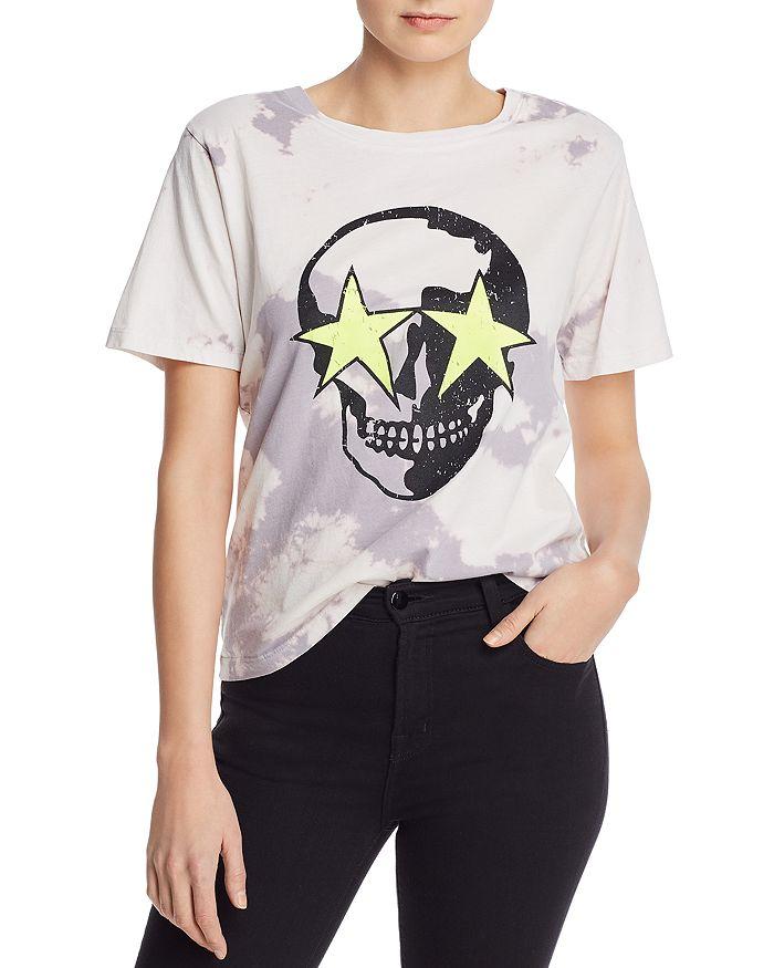 CHRLDR - Skull Stars Tie-Dyed Tee