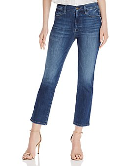 FRAME - Le High Ankle Straight-Leg Jeans in Bestia
