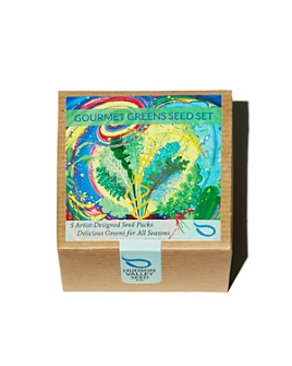 Hudson Valley Seed Co. - Gourmet Greens Seed Set