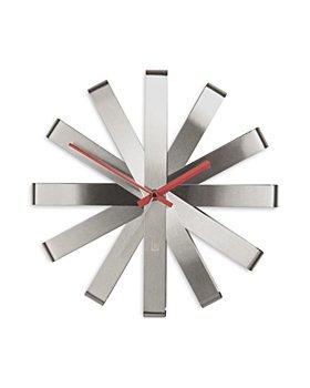 "Umbra - Ribbon 12"" Wall Clock"