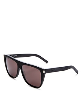 Saint Laurent - Men's Flat Top Square Sunglasses, 59mm