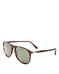Persol - Men's Polarized Aviator Sunglasses, 55mm