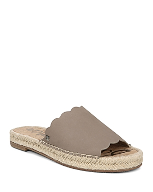 Sam Edelman Sandals WOMEN'S ANDY ESPADRILLE SLIDE SANDALS