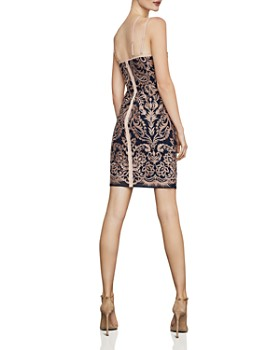 f5e343ee466a BCBGMAXAZRIA - Baroque Embroidered Sheath Dress BCBGMAXAZRIA - Baroque  Embroidered Sheath Dress