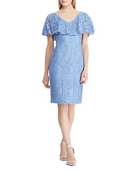 Ralph Lauren - Ruffled Lace Dress