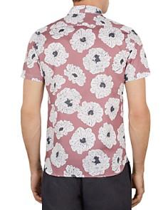Ted Baker - Leave Large Flower Print Slim Fit Shirt