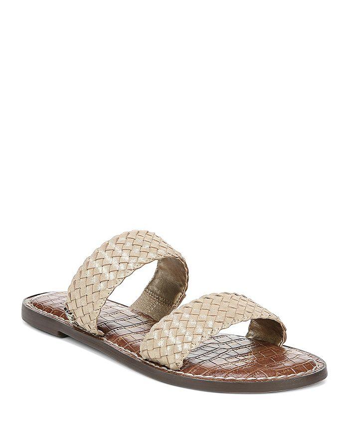 Sam Edelman - Women's Gala Woven Slide Sandals