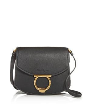 Salvatore Ferragamo - Margot Leather Shoulder Bag