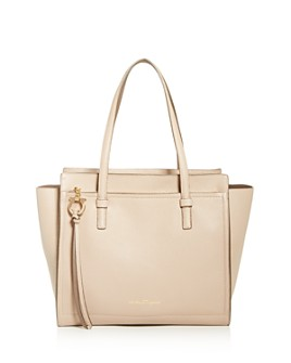 Salvatore Ferragamo - Medium The Amy Grand Prix Leather Tote - 100% Exclusive