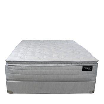 Asteria - Beth Pillow Top Twin XL Mattress & Box Spring Set - 100% Exclusive