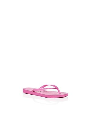 Havaianas Girls' Slims Flip-Flops - Toddler, Little Kid, Big Kid