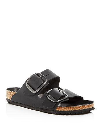 Birkenstock - Men's Arizona Big Buckle Leather Slide Sandals