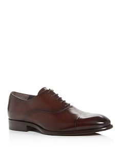 To Boot New York - Men's Faro Leather Cap-Toe Oxfords