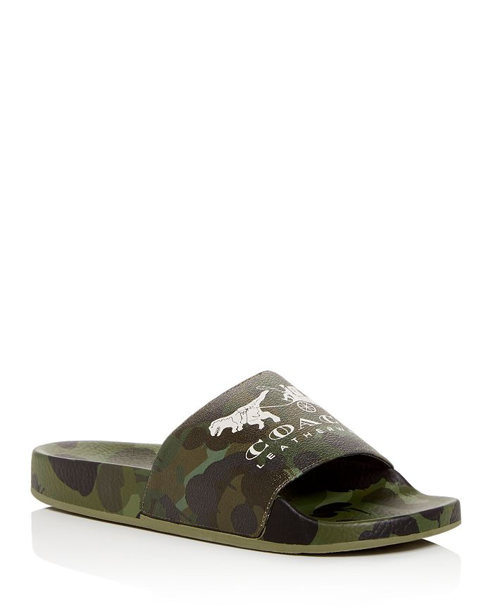 COACH - Men's Wild Beast Rexy Slide Sandals