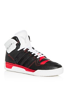 Y-3 - Men's Hayworth Leather High-Top Sneakers