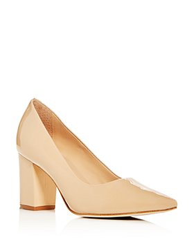 Joan Oloff - Women's Riley Block-Heel Pumps