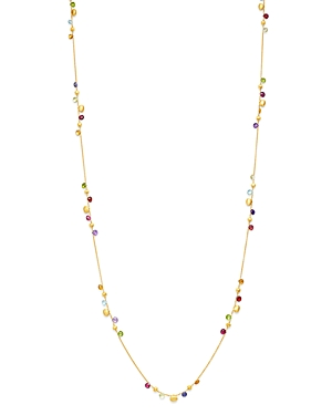 Marco Bicego 18K Yellow Gold Paradise Gemstone Beaded Necklace, 36