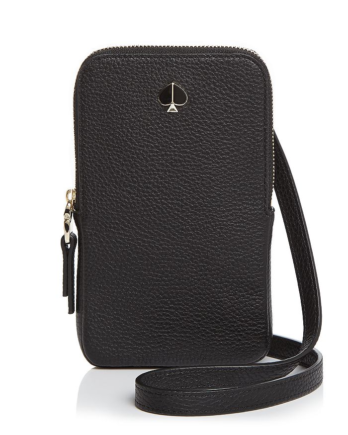 kate spade new york - Polly Leather Phone Crossbody