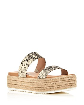 AQUA - Women's Ayden Espadrille Platform Sandals - 100% Exclusive