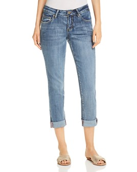 JAG Jeans - Carter Girlfriend Skinny Jeans in Medium Indigo Vintage