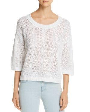 Tommy Bahama Open-Knit Linen Sweater