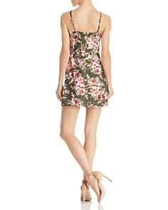 FRENCH CONNECTION - Whisper Floral-Print Mini Dress