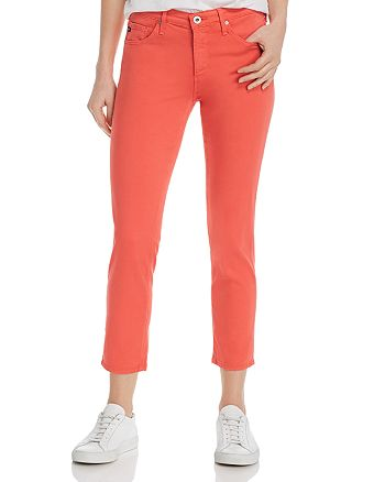 AG - Prima Cropped Skinny Jeans in Faded Azalea