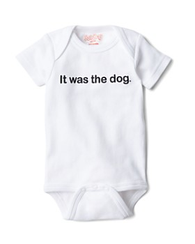 Sara Kety - Unisex It Was the Dog Bodysuit - Baby