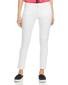 Escada Sport - High-Rise Skinny Jeans in White