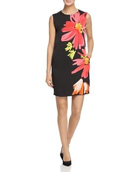 Escada Sport - Flower Print Sheath Dress