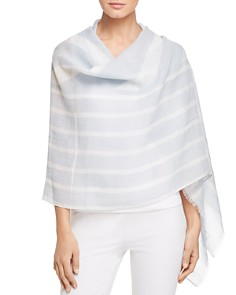 Eileen Fisher - Striped Wrap