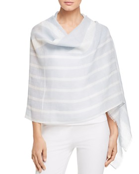 Eileen Fisher - Striped Wrap