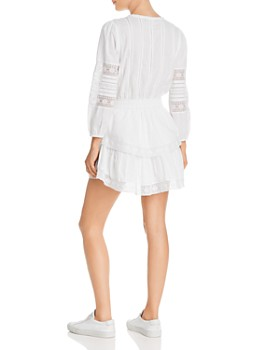 Generation Love - Gia Lace-Inset Peasant Dress