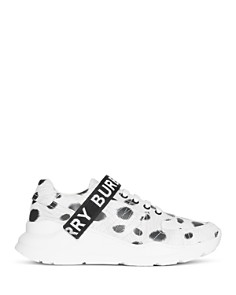 Burberry - Women's Ronnie Lace-Up Sneakers