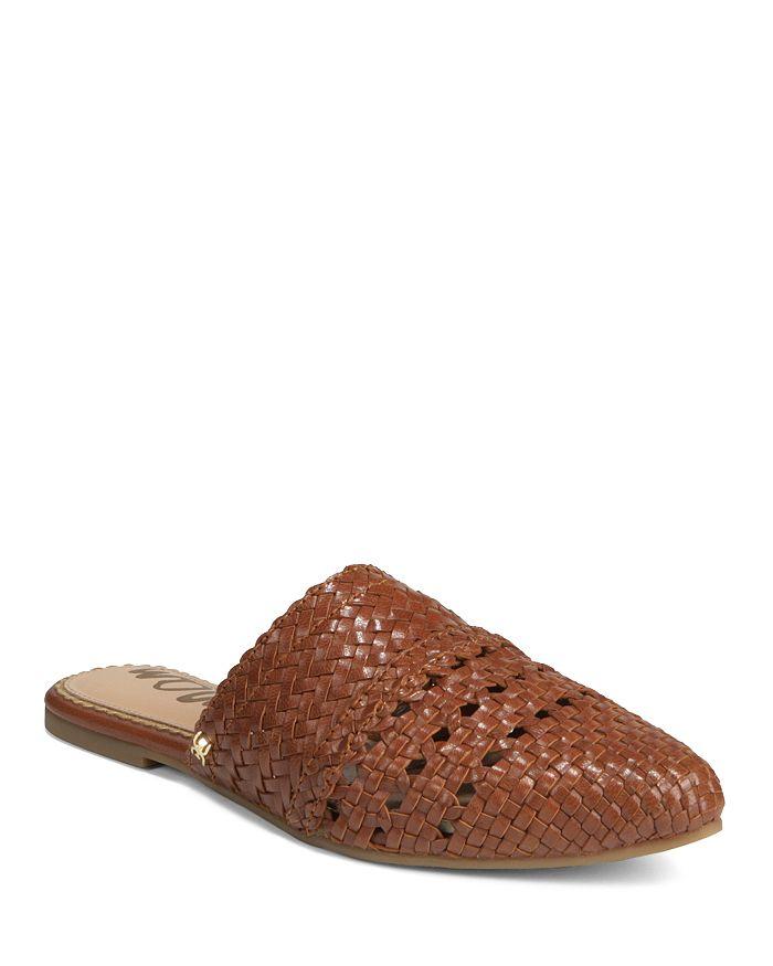 Sam Edelman - Women's Natalya Woven Leather Mules