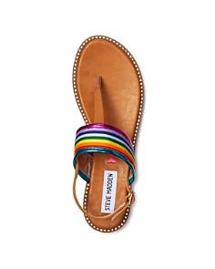 STEVE MADDEN - Girls' Jsense Thong Ankle-Strap Sandals