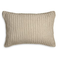 "DKNY - PURE Knitted Decorative Pillow, 12"" x 18"""