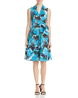 Le Gali - Ryan Botanical-Print Wrap Dress - 100% Exclusive