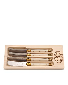 Laguiole Jean Dubost - Spreaders in a Wooden Box, Set of 4