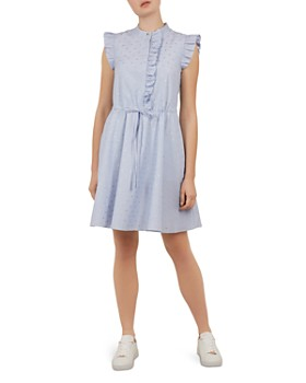 002bbf1c435 Ted Baker - Beyonc Ruffle-Trimmed Dress ...