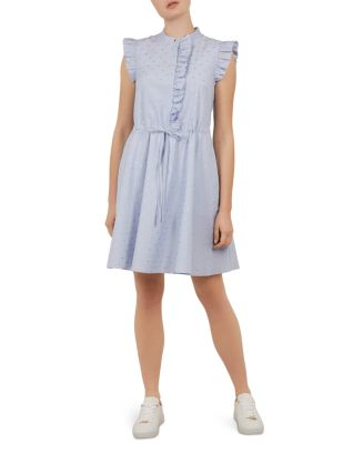 Beyonc Ruffle Trimmed Dress by Ted Baker